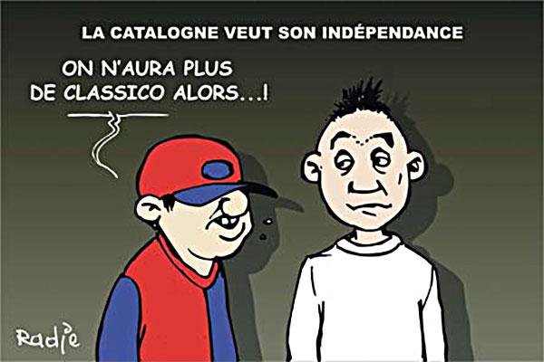 La Catalogne veut son indépendance