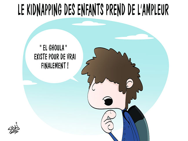 Le kidnapping des enfants prend de l'ampleur