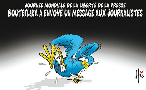 Journée mondiale de la liberté de la presse: Bouteflika a envoyé un message aux journalistes