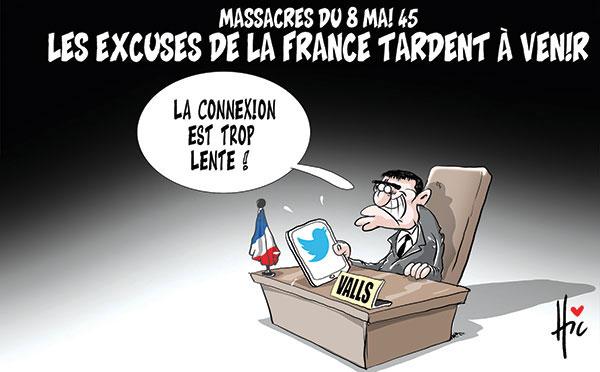 Massacre du 8 mai 45: Les excuses de la France tardent à venir