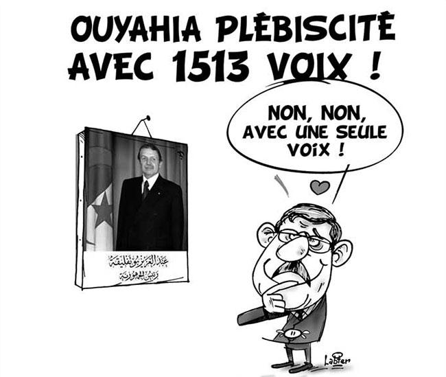 Ouyahia plébiscité avec 1513 voix
