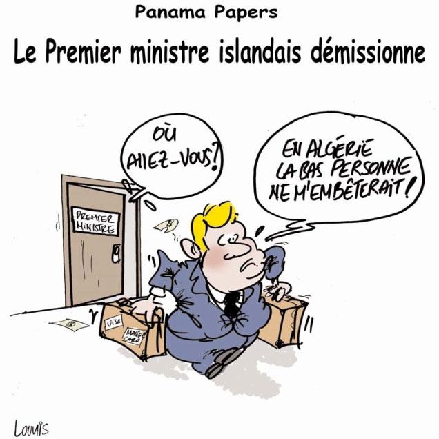 Panama papers: Le premier ministre islandais démissionne