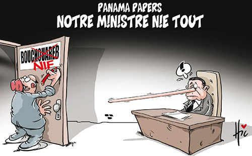 Panama papers: Bouchouareb nie tout