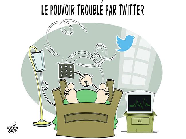 Le pouvoir troublé par twitter