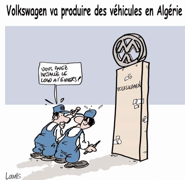 Volkswagen va produire des véhicules en Algérie