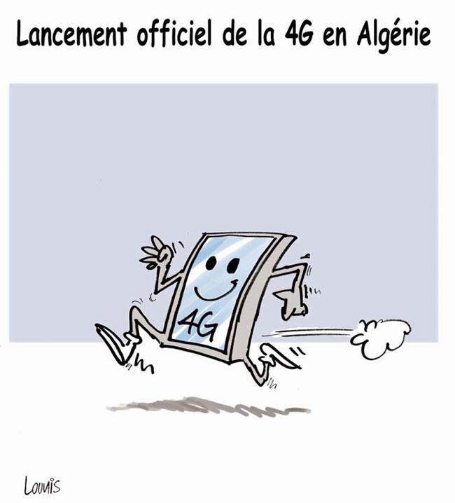 Lancement officiel de la 4G en Algérie