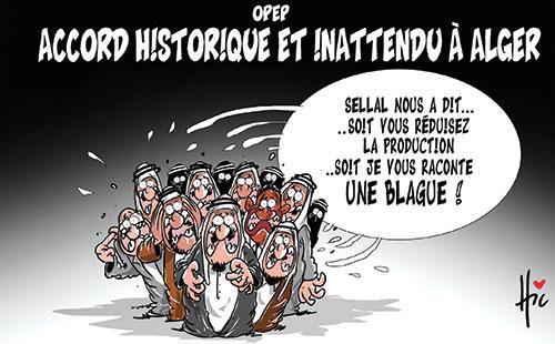 Opep: Accord historique et inattendu à Alger