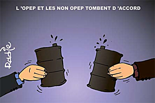 L'opep et les non opep tombent d'accord