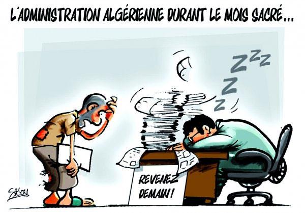 L'administration algérienne durant le mois sacré