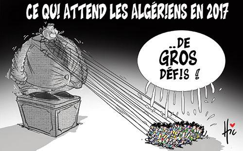 Ce qui attend les algériens en 2017