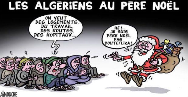 Les Algériens au père noël