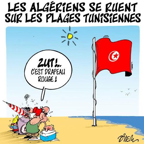 Les Algériens se ruent sur les plages tunisiennes
