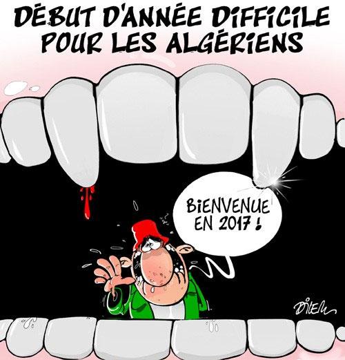 Début d'année difficile pour les algériens