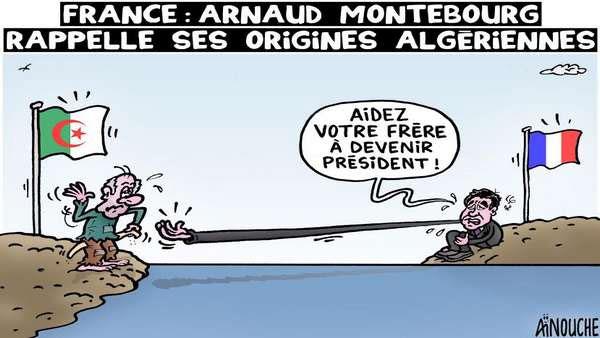 France: Arnaud Montebourg rappelle ses origines algériennes