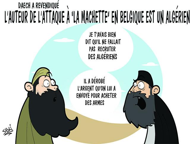 Daech a revendiqué: L'auteur de l'attaque à la machette en Belgique est un algérien