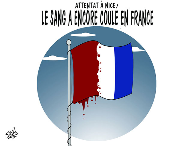 Attentat à Nice: Le sang a encore coulé en France
