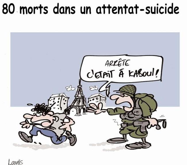 80 morts dans un attentat suicide