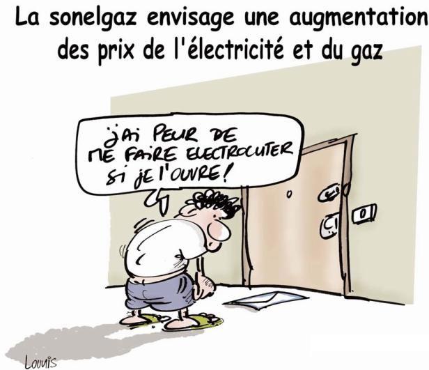La sonelgaz envisage une augmentation des prix de l'électricité et du gaz