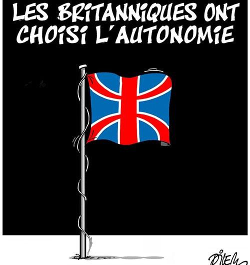 Les Britaniques ont choisi l'autonomie