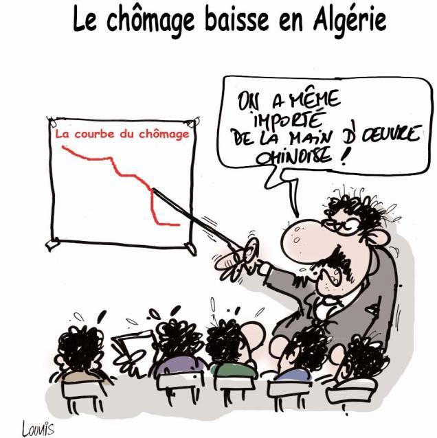 Le chômage baisse en Algérie