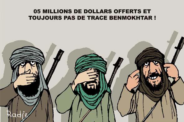 5 millions de dollars offerts et toujours pas de trace de Benmokhtar