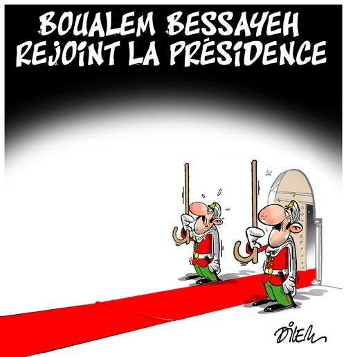 Boualem Bessayeh rejoint la présidence
