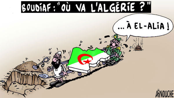"Boudiaf: ""Ou va l'Algérie ?"""