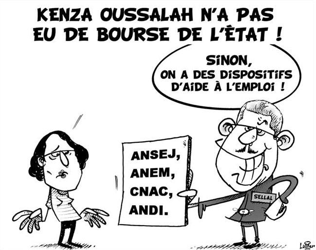 Kenza Oussalah n'a pas eu de bourse de l'état