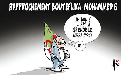 Rapprochement Bouteflika - Mohamed 6