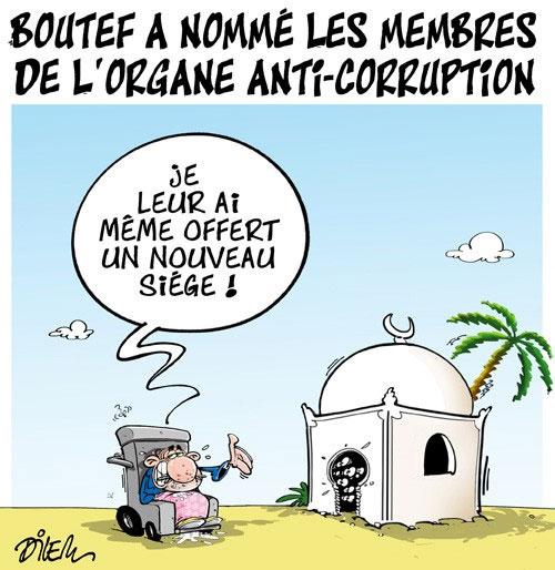 Boutef a nommé les membres de l'organe anti-corruption