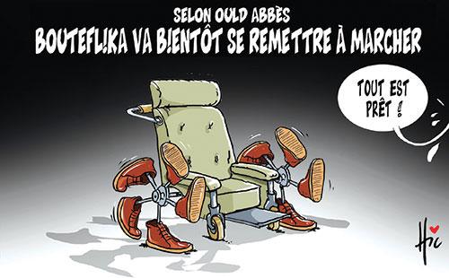 Selon Ould Abbès: Bouteflika va bientôt se remettre à marcher