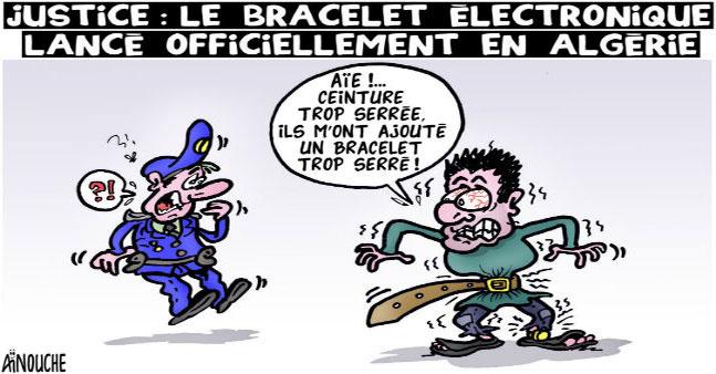 Justice: Le bracelet électronique lancé officiellement en Algérie