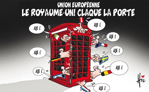 Union Européenne: Le Royaume-Uni claque la porte