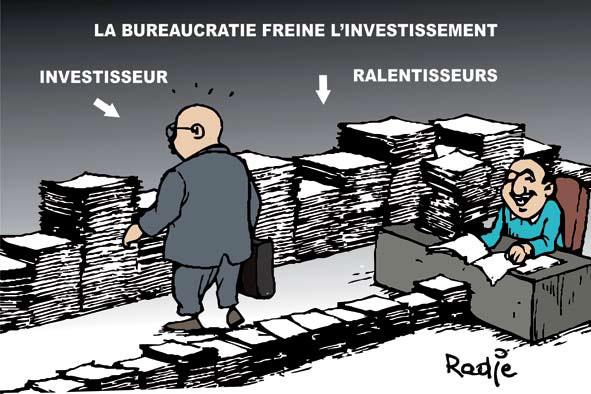 La bureaucratie freine l'investissement