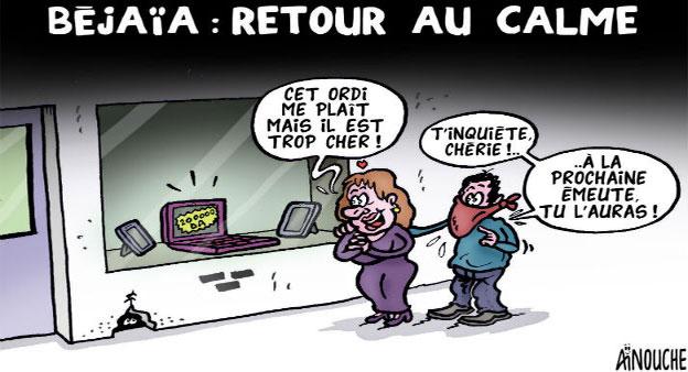 Béjaïa: Retour au calme