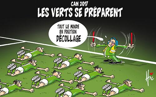 Can 2017: Les verts se préparnt