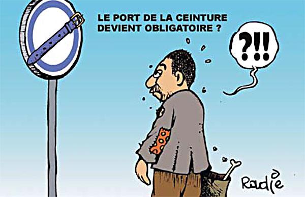 Le port de la ceinture devient obligatoire caricatures et humour - Port de la ceinture obligatoire ...