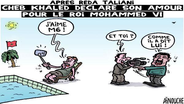 Après Réda Taliani: Cheb Khaled déclare son amour pour le roi Mohamed VI
