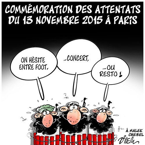 Commémoration des attentats du 13 novembre 2015 à Paris
