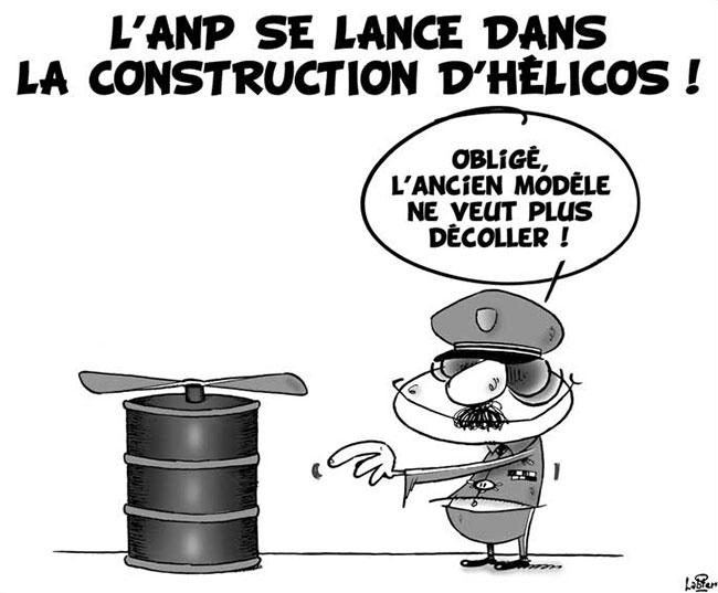 L'anp se lance dans la construction d'hélicos