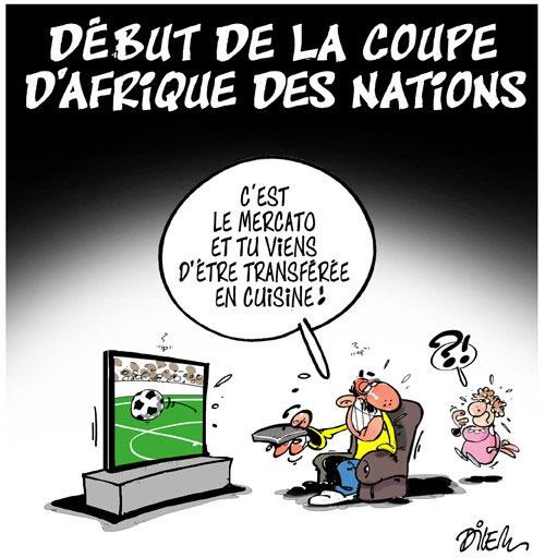 Début de la coupe d'Afrique des nations