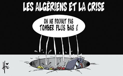 Les Algériens et la crise