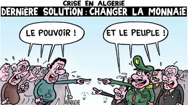 Crise en Algérie: Dernière solution