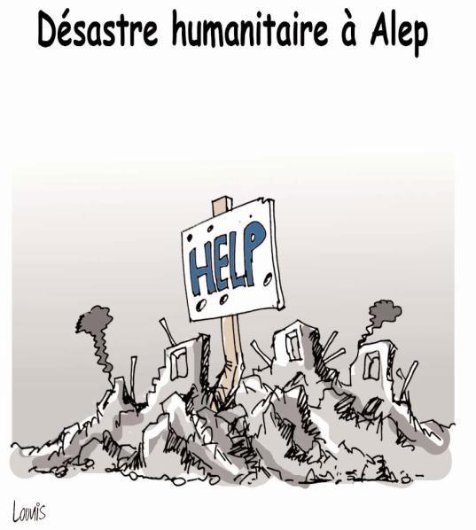 Désastre humanitaire à Alep