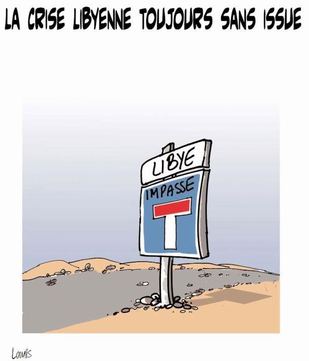 La crise libyenne toujours sans issue