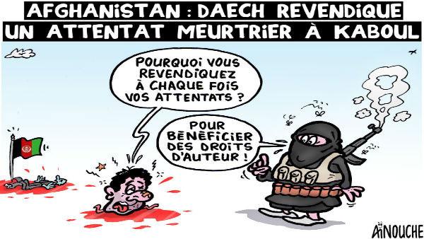 Afghanistan: Daech revendique un attentat meurtrier à Kaboul