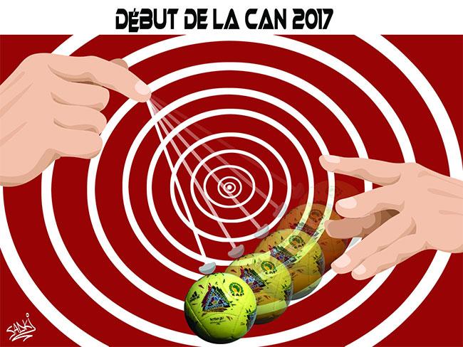 Début de la CAN 2017