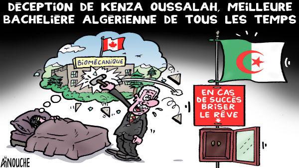 Déception de Kenza Oussalah