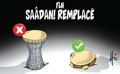 FLN: Saâdani remplacé