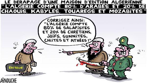 L'Algérie compte 80% d'arabes et 20% de chaouis